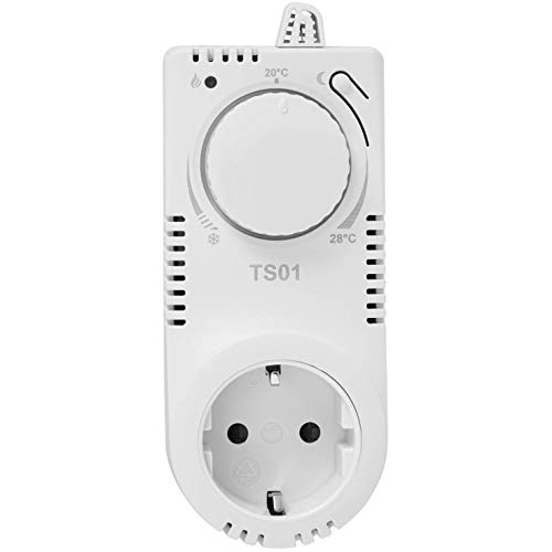 TS01 Steckdosen-Thermostat Thermo-Schaltsteckdose Nachtabsenkung Raumthermostat