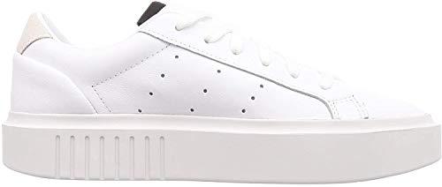 adidas Damen Sleek Super W Sneaker, Weiß (White Ef8858), 39 1/3 EU