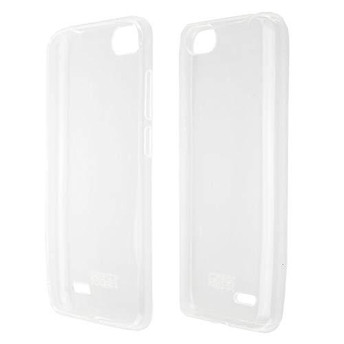 caseroxx TPU-Hülle für Gigaset GS100, Tasche (TPU-Hülle mit & ohne Bildschirmschutz) (TPU- Hülle, transparent)