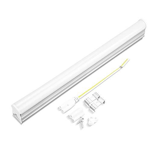 RENZHEN 6 UNID T5 Tubo LED Integrado 220V Lámpara de Tubo LED Fluorescente 2835 SMD 5W 29CM / 9W 57 CM bajo la luz del gabinete de la Cocina,9w 57cm Warm White