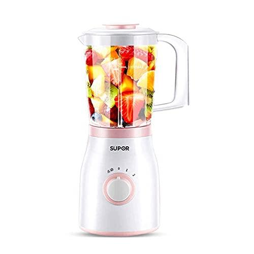 Inicio Máquina para Hacer Helados Mini exprimidor Licuadora portátil Licuadora Personal Licuadora de Frutas pequeña Exprimidor eléctrico Viaje en casa Licuadora de Frutas 1000 Ml Baibao Durable