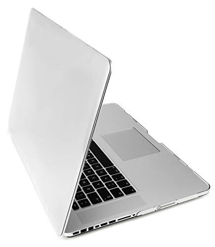 MyGadget Custodia Rigida Trasparente per Apple Macbook Pro 15' Prima 2012 (CD ROM) 2008 - 2012 / Modello A1286 - Case Hardshell Plastica Lucida - Cover Clear