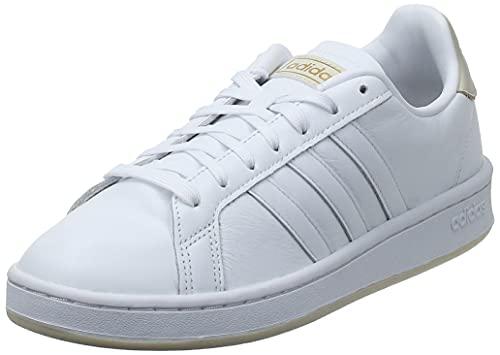 adidas Grand Court, Zapatillas de Tenis Hombre, FTWBLA/FTWBLA/ALUMIN, 42 2/3 EU