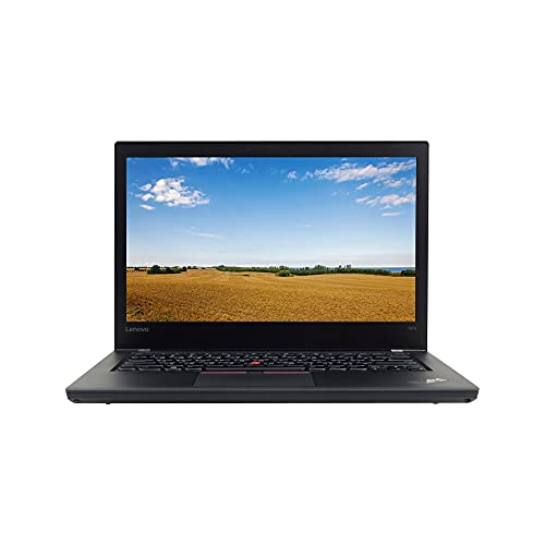 Lenovo T470 14in Laptop, Core i5-6300U 2.4GHz, 8GB RAM, 256GB Solid State Drive, Windows 10 Pro 64Bit (Renewed)