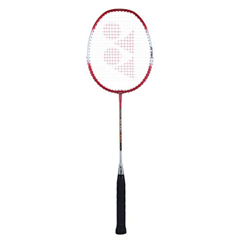 Yonex ZR 100L Aluminium Strung Badminton Racquet with Full Cover (Red)