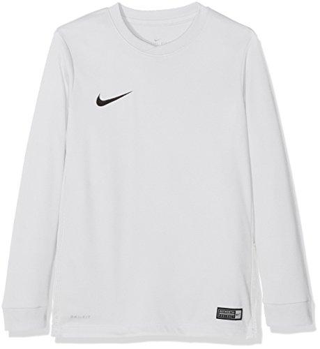 Nike LS YTH Park Vi JSY Camiseta de Manga Larga para Niños, Blanco, L