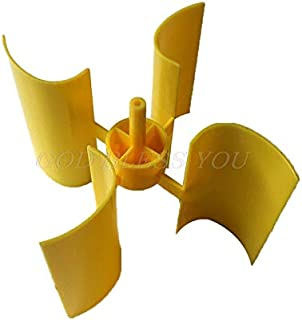 Vaselonsa Mini Wind Turbine Blade Vertical Axis Micro Generator Blades Small Set - Alternative Generators Energy Alternative Energy Generators Generator Wind Vertical Aqua
