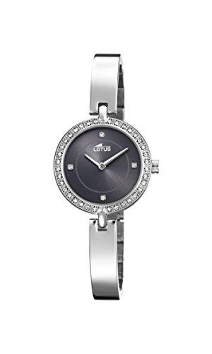 Lotus Watches Reloj Análogo clásico para Mujer de Cuarzo con Correa en Acero Inoxidable 18547/2