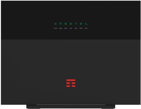 ZTE Modem Tim Hub+ Top Performance Wi-Fi 6 con Tecnologia EasyMesh, stabilità, velocità e qualità