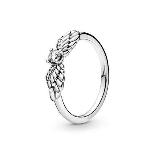 Pandora Damen-Ringe zum Jahrestag 925 Sterlingsilber mit '- Ringgröße 52 198500C01-52