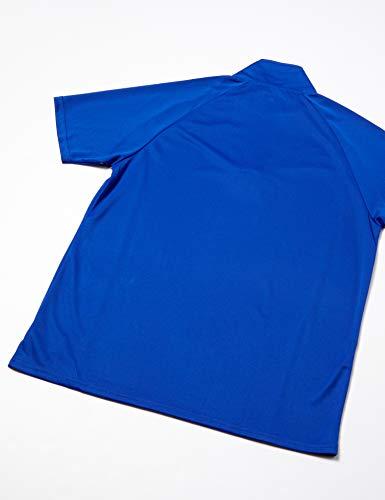 『(エーディーワン)A.D.ONE QUICKDRY クイックドライ ゴルフシャツ 吸汗速乾機能 ハーフジップシャツ スポーツシャツ AD-786B』の1枚目の画像