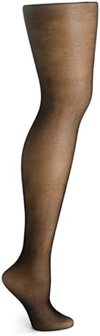 HUE Premium Sheer Shimmer Control Top Pantyhose