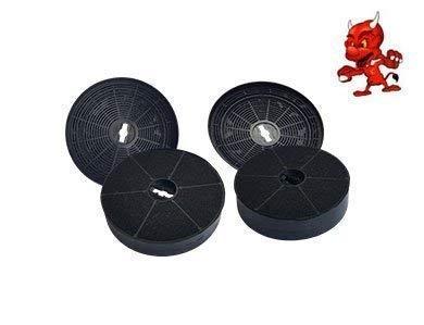 Mega lot de 4filtres à charbon Filtre à charbon actif Filtre pour hotte on type : Triton