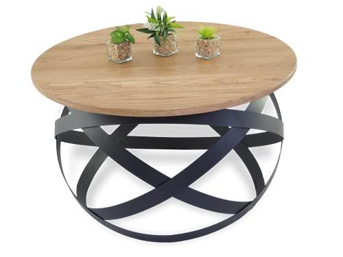 Mesa de centro de madera maciza