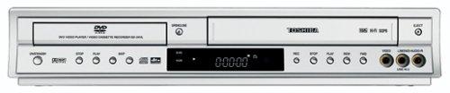 Toshiba SD-24 VL DVD-Player/VHS-Rekorder-Kombination Silber