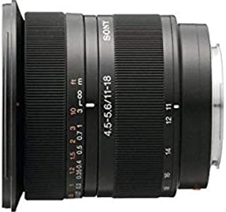 Sony SAL1118 A Mount - APS-C DT 11-18mm F4.5-5.6 Zoom Lens
