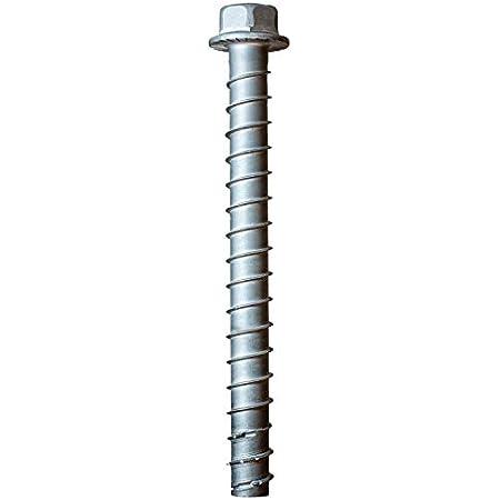 """Simpson Strong-Tie ATR5//8X36 5//8/"""" x 36/"""" All-Thread Rod Plain Carbon Steel"""
