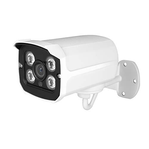 Cámara de Seguridad IR, cámara de Seguridad AHD, cámara de vigilancia doméstica AHD 4 en 1 AHD/CVI/TVI/CVBS, IP66 Resistente a la Intemperie para día y Noche en Exteriores/Interiores