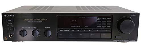 Sony STR-AV 210 Stereo Receiver in schwarz