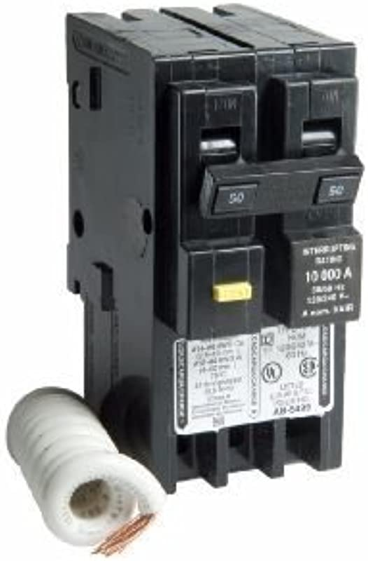 50 Amp HOM250GFIC Two Pole GFCI Circuit Breaker For Square D Homeline