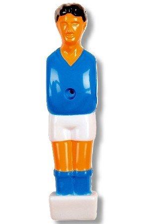 Kickerfigur 'Hobby' für 13 mm Stangen in Farben rot/blau erhältlich. Art_249501a