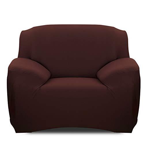 Souarts Sofabezug elastische Stretch Sofaüberwurf Sofa Couch Sessel Husse Bezug Decke Sofabezüge 1/2 / 3/7 Sitzer