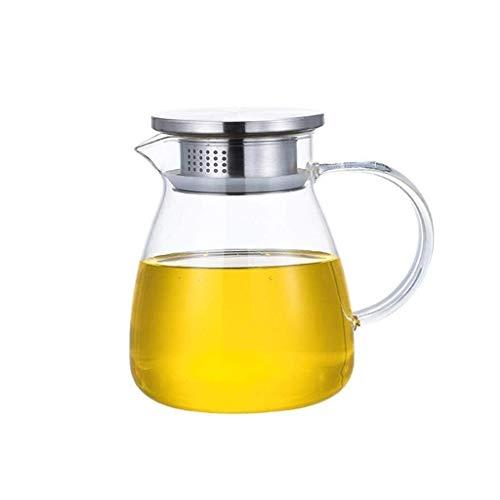 Botellas de cristal Aceite de oliva Vinagre Pot Dispenser vinagre puede Vinagrera de almacenamiento con asa y tapa de la botella de aceite caliente agua fría tarro jarra jugo for Ministerio Uso
