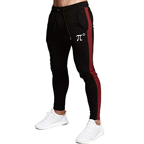 PIDOGYM Men's Slim Striped Jogger Pants, Tapered Sweatpants for Training, Running, Workout