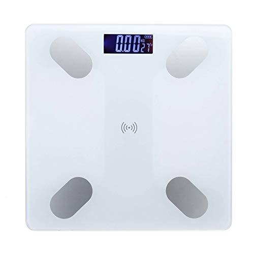 Escala de grasa corporal Escala de laboratorio alt LCD Cuerpo Electrónico Escala de grasa Smart BMI Scale LED Digital Baño Digital Escala de peso Balance Balance Aplicación Bluetooth Escala electrónic