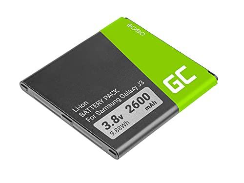 Green Cell Batterie téléphone interne EB-BG531BB compatible avec Samsung Galaxy Grand Prime J3 J5 SM-G531F | Li-Ion | 2600 mAh 3.7V | Batterie de remplacement pour smartphone | Batterie de marque