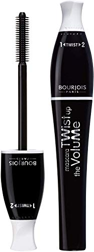 Bourjois Twist Up The Volume for Women Mascara, No. 21/Black, 0.27 Ounce