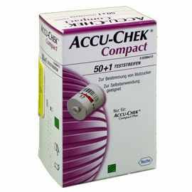 Accu-Chek Compact 1310240 Glucose Teststreifen