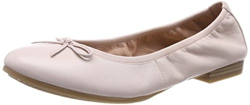 Tamaris Damen 22116 Ballerinas, Pink (Rose Leather), 37 EU