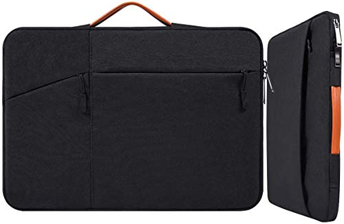 17.3 Inch Waterproof Laptop Bag Sleeve for Men Women Briefcase for New HP Envy 17.3, Dell Inspiron 17/Dell G3 G7 17.3, 2019 Lenovo 330 L340 17.3, ASUS TUF 17.3, MSI GS75 GL75 GF75 17.3' Case, Black