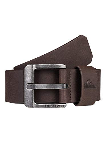 Quiksilver - Cinturón de Cuero Sintético - Hombre - L-36 - Multicolor
