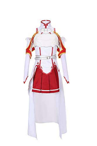 Sword Art Online Sao Asuna Yuuki Cosplay Disfraz para Adulto