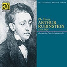 The Young Arthur Rubinstein (1919-1924) by Chopin