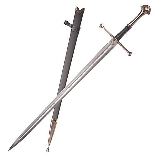 Sword Valley Handmade Anime Cosplay Narsil Holy Sword, Stainless Steel, Buster Swords, Hand Forged, Sharp Knives