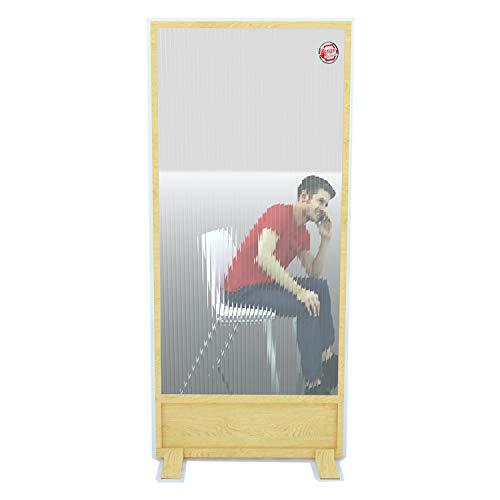 Biombo Separador Anticontagio para Bares y restaurantes 70x180cm Fabricado en España