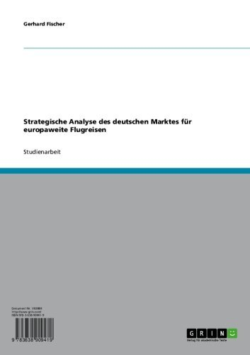 Strategische Analyse des deutschen Marktes für europaweite Flugreisen
