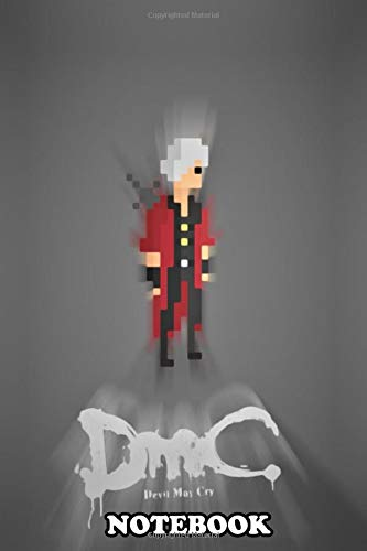 "Price comparison product image Notebook: Devil May Cry Pixels ,  Journal for Writing,  College Ruled Size 6"" x 9"",  110 Pages"