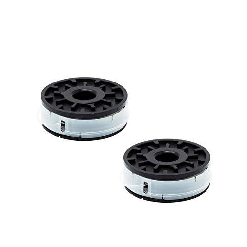 FixedByU - Bobina de Repuesto para cortabordes eléctrico Florabest FRT 430, 430/10, 450 A1, 450 B2, 500/8 (2 Unidades)