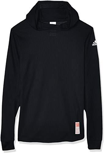 Adidas Men's Sweatshirt (DZ1542_Black_Large) - Black - L