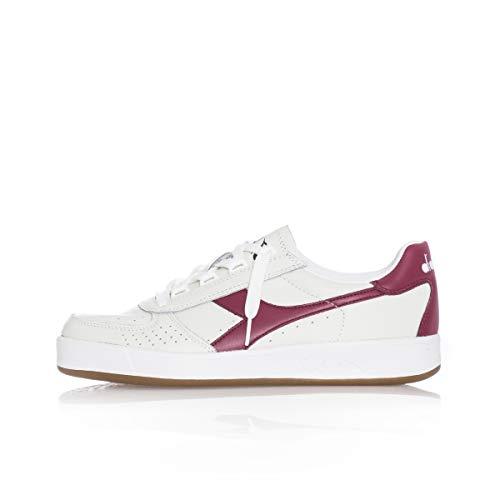 Diadora B.Elite L, Chaussures de Gymnastique Homme, Blanc Cassé (Biancorosso Tibetano), 42 EU