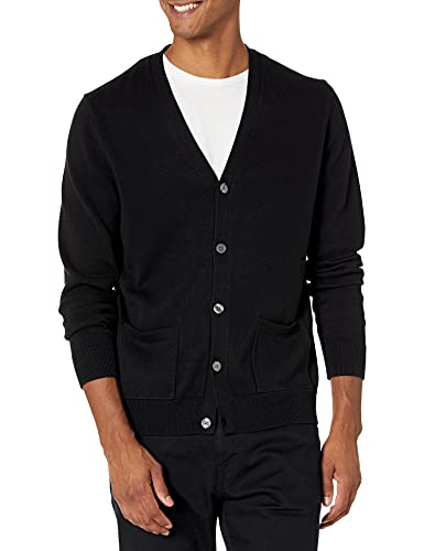 Amazon Essentials Men's Standard Cotton Cardigan