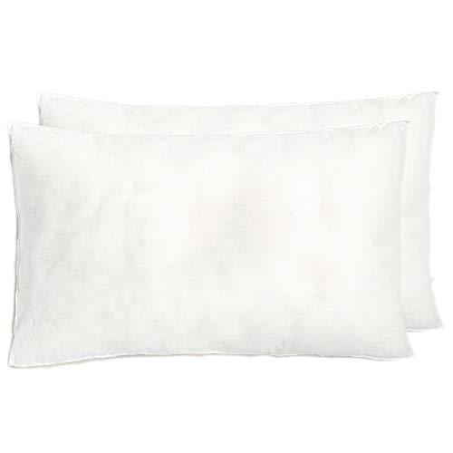 [Pack 2] Relleno cojín 30x50 | Relleno almohada. Relleno de fibra hueca, hipoalergénico, indeformable y lavable. 100% poliéster. Varias medidas.