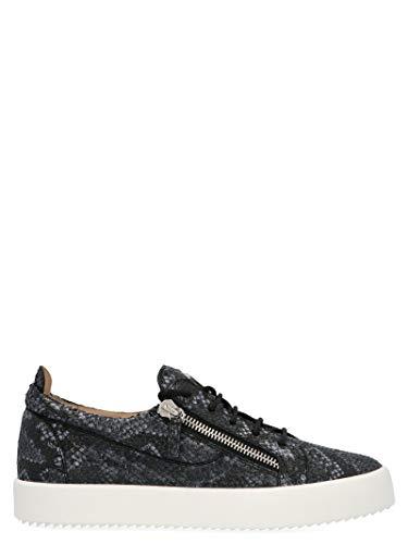 Giuseppe Zanotti Luxury Fashion Herren RU70000193 Schwarz Sneakers | Frühling Sommer 20