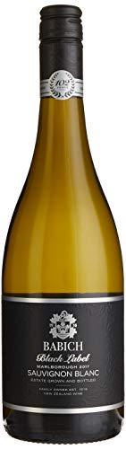 Babich Sauvignon Blanc Black Label Marlborough 2019 Neuseeland Wein (1 x 0.75 l)
