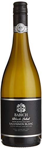 Babich Sauvignon Blanc Black Label Marlborough 2019 Neuseeland Wein (1 x 0.75 l)