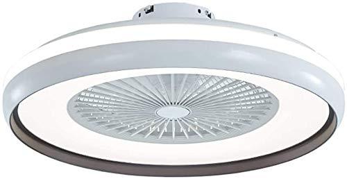 LBYLYH Deckenventilator Mit Fernbedienung Mit 60 cm Durchmesser, Deckenventilator Mit Led-Beleuchtungsset, 3-Farben-Temperaturschalter, 3-Gang,Style 1
